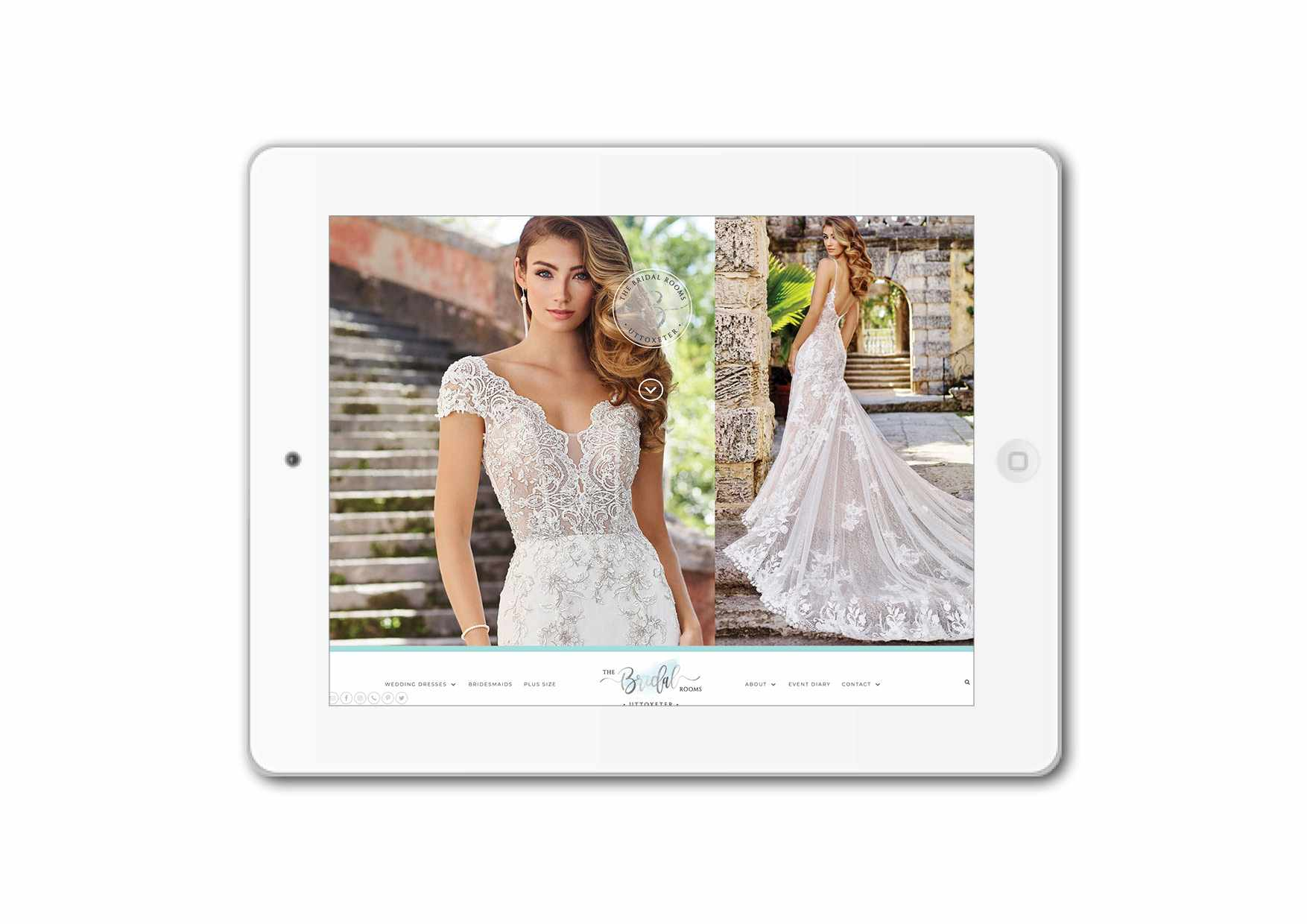 The Bridal Rooms Website