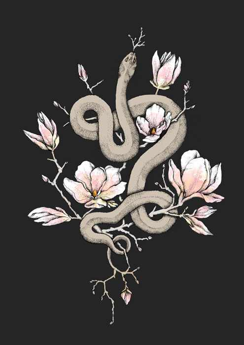 Magnolia and Serpent