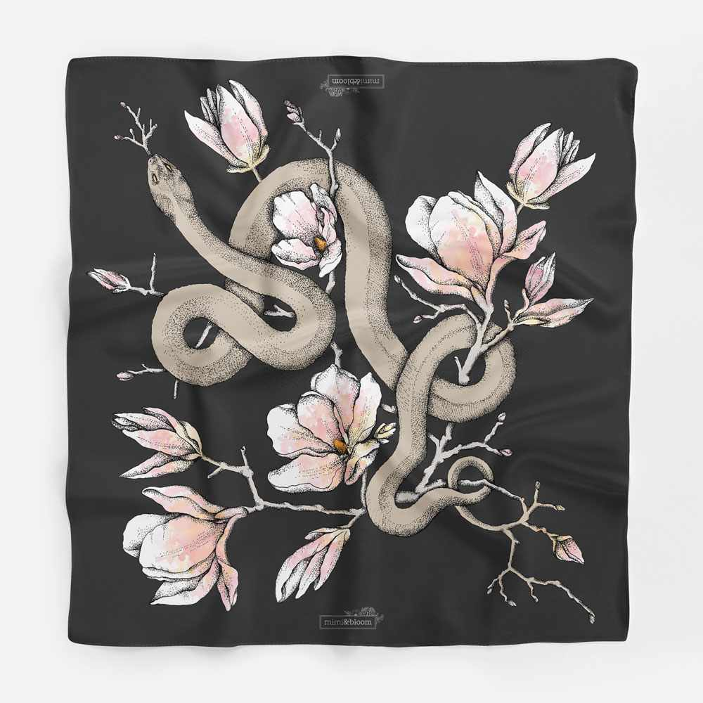 Mimi&Bloom Silk Scarves